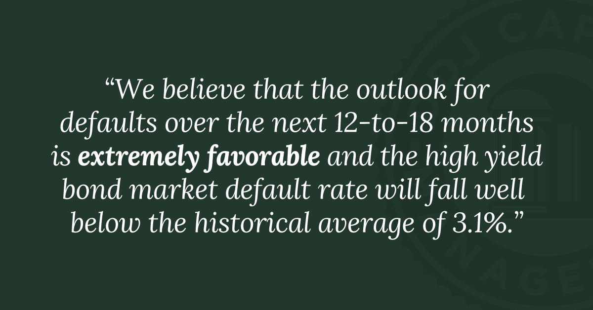 Our Outlook for High Yield Corporate Bond Defaults, Part 2